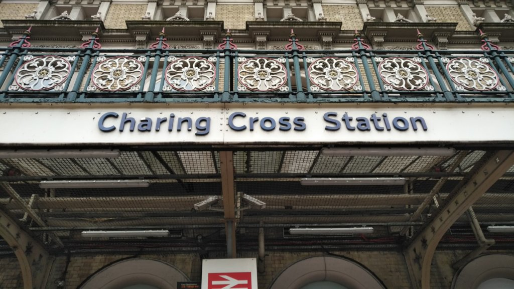 Entrance to Charing Cross Station