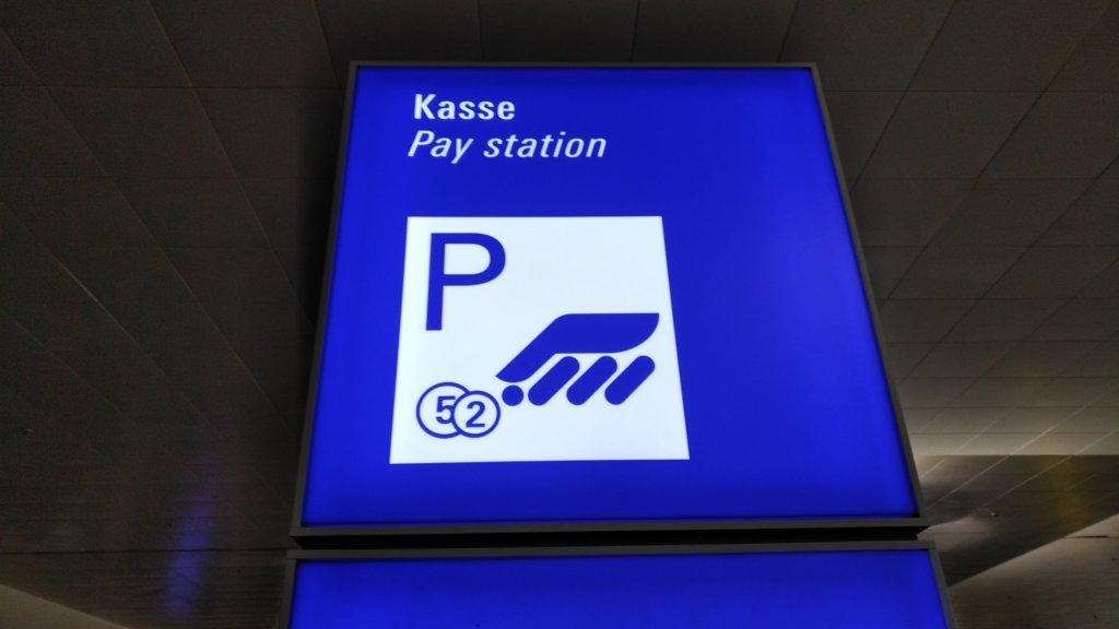 Kasse / Pay station