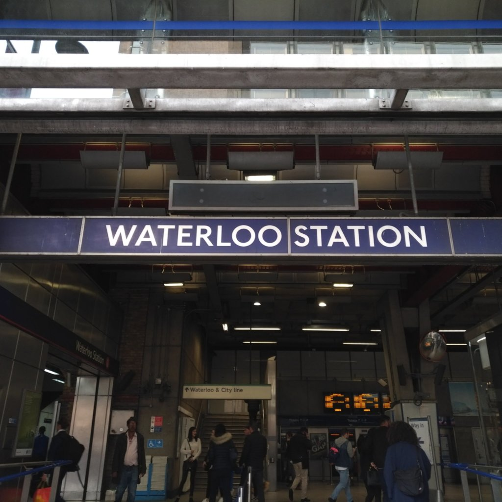 Entrance to Waterloo Station
