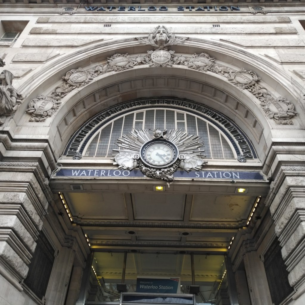 Main entrance to Waterloo Station