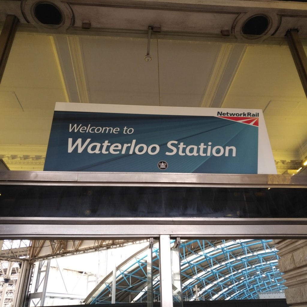 Welcome ot Waterloo Station (NetworkRail)