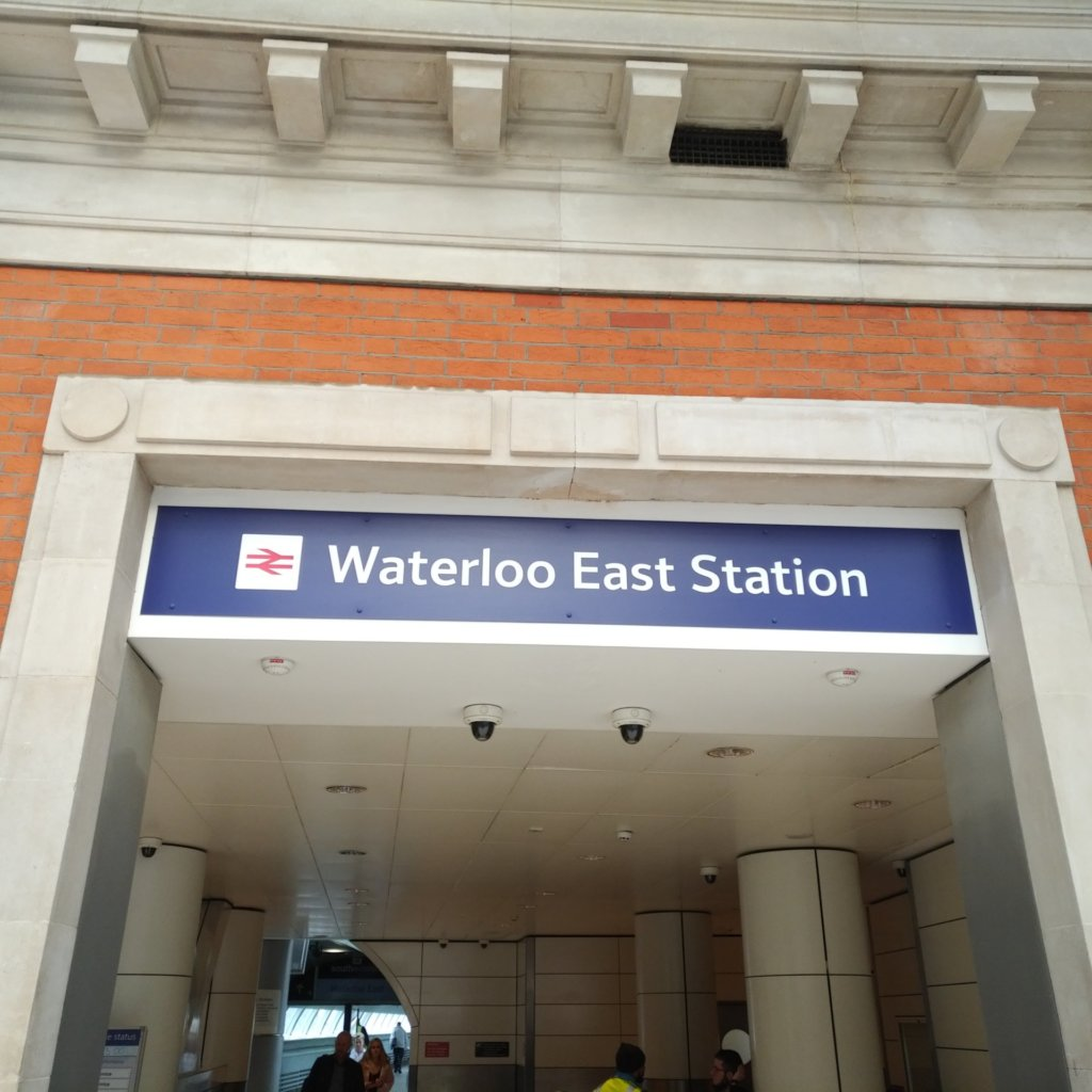 Entrance to Walterloo East Station