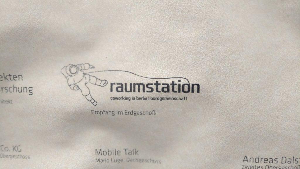 Raumstation Coworking in Berlin